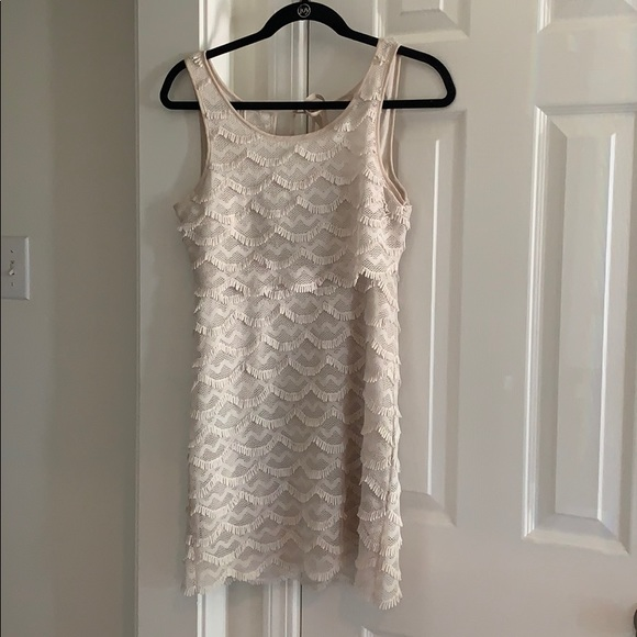 Cooperative Dresses & Skirts - Off White Layered Dress